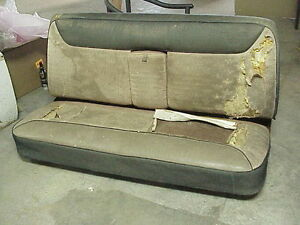 1956 56 Chrysler Imperial Mopar Front Bench Seat With Frame Very Good Springs