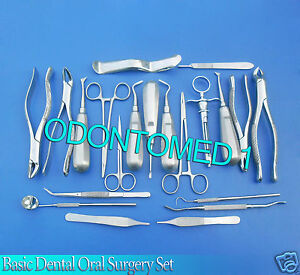 22 Pcs Premium Basic Oral Dental Surgery Surgical Instruments Set Kit Dn 562