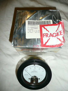 A m Inst Model 366 Panel Mount Ammeter Nsn 6625 00 892 5315 0 To 50 Amperes