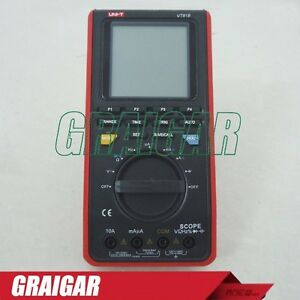 Uni t Scope Digital Multimeters Ut81b Display 3999 memory 10 Screens And Setups