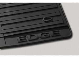 2011 2012 2013 2014 Edge Genuine Ford Black Rubber All Weather Floor Mat 3pc