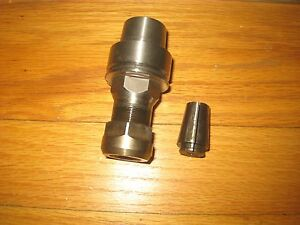 Schaublin Collet Tool Holder 87 40007 Extension Drill Bushing
