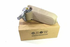 New Vw Oem Mk4 Golf Jetta Beige Center Console Armrest 3b0867174 Q70