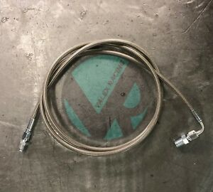 Stainless Steel Clutch Line For 90 97 Honda Accord Complete Replacement