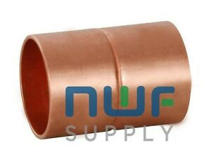 1 3 8 O d Hvac Refrigeration Copper Fitting Coupling Coupler Rolled Stop