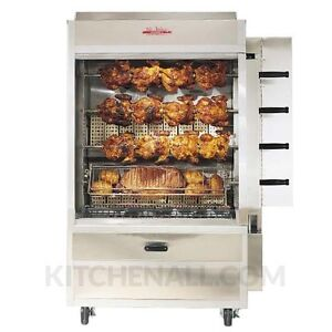 Old Hickory N4e 20 Chicken Electric Commercial Rotisserie Oven Machine