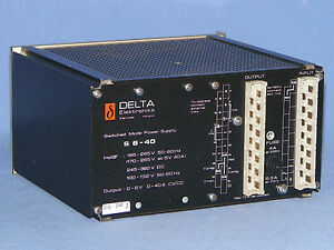 Delta S6 40 Switched Mode Power Supply