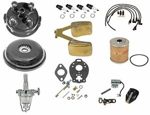 Comprehensive Maintenance Tune Up Kit W Float 8n Ford Side Mount Sn 263844 up