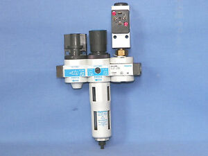 Festo Compressed Air Maintenance Unit Lfr d mini He d mini Frm d mini Pev 1