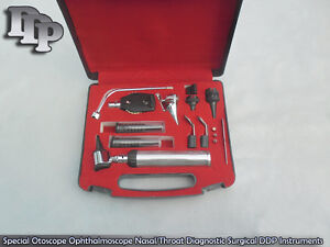 Special Otoscope Ophthalmoscope Nasal throat Diagnostic Set Nt 910