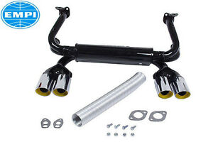 Volkswagen Beetle Transporter Exhaust System Kit Empi 24754001611 Vw7801291