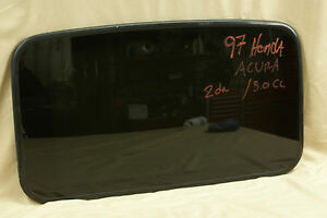 1997 Acura Cl 3 0 2 Door Honda Sunroof Glass Free Shipping