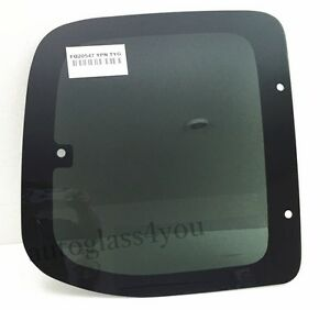 Passenger Right Side Quarter Glass Window For 00 06 Toyota Tundra 2 Dr Ext Cab