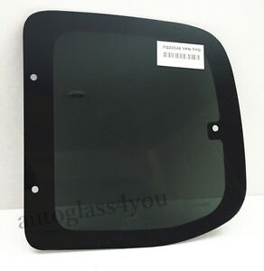 For 00 06 Toyota Tundra 2d Ext Cab Rear Quarter Glass Window Driver Left Side