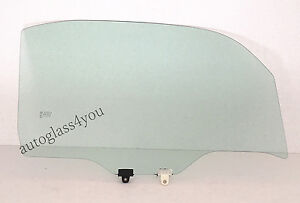 Fit 2009 2014 Nissan Cube 4 dr Utility Front Door Glass Passenger right Side