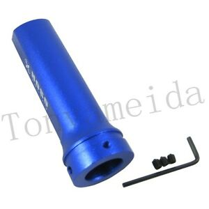 Blue Universal Car Handle Brake Cover Side Handbrake Sleeve Racing Style