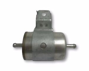 Fuel Line Filter Replacement 2 1 4 Diameter 5 Long With Mounting Bracket New