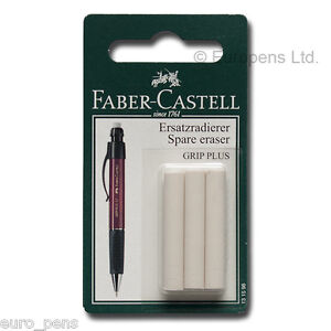 Papermate Phd Ultra Pencil Or Faber Castel Spare Eraser Refill pack Of 3