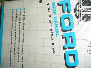 Ford Shop Service Manual Model Series 1000 1600