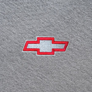 Chevy Bowtie Logo On Black Custom Carpet Floor Mats Silverado Equinox Traverse