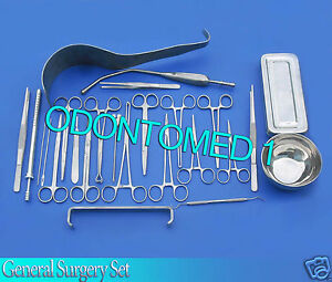 General Sergery Set Surgical Instruments Ds 991