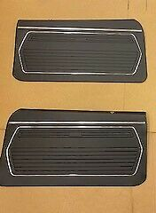 1969 Chevy Camaro Front Door Panel Set Black Z 28 Rs Ss Pace Car J3 2000