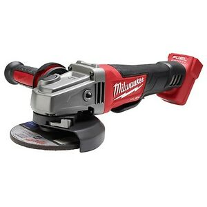 Milwaukee 2780 20 M18 Fuel 4 1 2 In 5 In Grinder Paddle No lock
