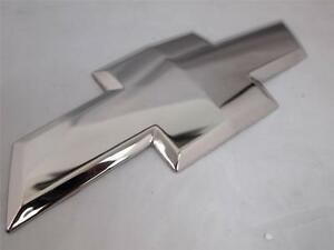 07 13 Chevy Silverado 07 10 Hd 2500 3500 Chrome Plated Bowtie Embl