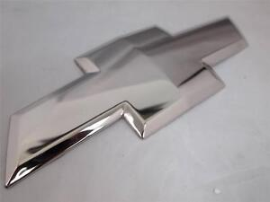 07 13 Chevy Silverado 07 10 Hd 2500 3500 Chrome Plated Bowtie Emblem Stainless