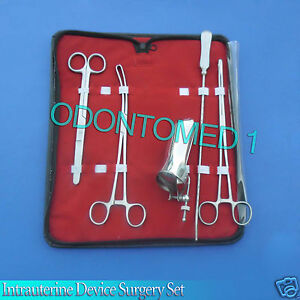 Iud intrauterine Device Surgery Set Surgical Instruments Ds 902