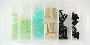 32pc Fuel Line Retainer Clip Assortment Ford Gm Chrysler 5 16 3 8 Free Ship