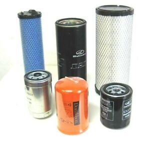 Mahindra Tractor Economy Pack Of 6 Filters 0455 0456 6648 0789 5888 2702