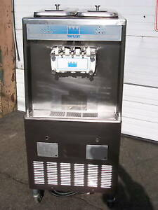 Taylor Soft Serve Ice Cream Machines 1 ph water cooled Air cooled