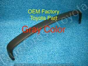 Toyota Truck Pickup Upper Dash Trim Bezel Top Gray New Oem Toyota 1989 1995