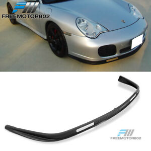 For 01 05 Porsche 996 911 Coupe Turbo Carrera Front Bumper Lip Spoiler Bodykit