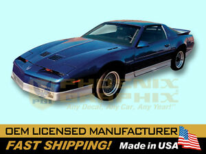 1987 1988 1989 1990 Pontiac Firebird Trans Am Decals Stripes Kit