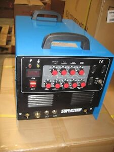 New Tig Arc Ac dc Welder Plasma Cutter Pulse New 200p Foot Pedal Included