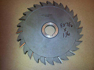 1 1 4 Arbor Slitting Saw 8 X 7 16 Poland 0528 T 16 New