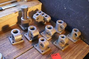 Ward Herbert Turret Lathe Tool Block Holder Lot Ea Center Clean 9 Pc Set