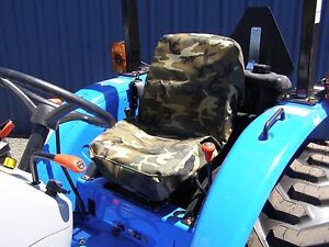 Tractor Seat Cover Small Forklift Seat Cover Small Camo Military Grade