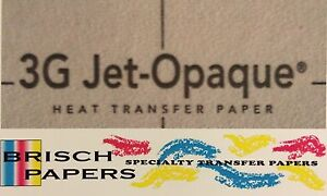 Inkjet Transfer Paper For Dark Fabric Neenah 3g Jet Opaque a3 Size 100 Ct