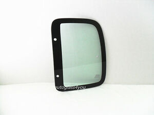 For 95 00 Toyota Tacoma 2 Dr Extended Cab Rear Quarter Glass Driver Left Side