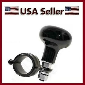 New Heavy Duty Steering Wheel Spinner Handle Suicide Power Marine Boat Knob