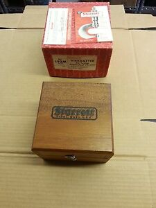 192mz Starrett Vibrometer 02mm Graduation Edp 50695 Metric