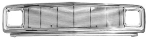 1969 1972 Chevy Pickup Chromed Steel Grille With 4mm Billet Insert Chevy Only