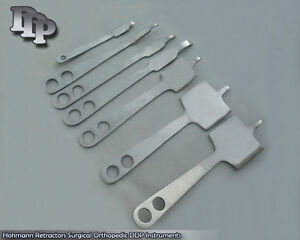 3 Sets Of 7 Hohmann Retractor Set Surgical Orthopedic Instruments