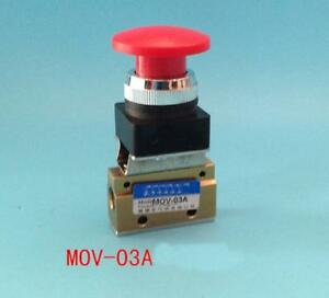 New 1 8 Thread Push Button Switch Pneumatic Reversing Valve Mov 03a