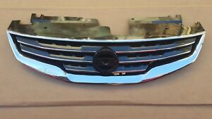 Fits 2010 2012 Nissan Altima Sedan Front Bumper Upper Grille Assembly New
