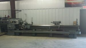 Lodge Shipley 150 X 20 5 Power Turn Lathe With 2 Bore With Tooling