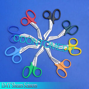 50 Emt Shear Scissors Bandage Paramedic Ems Supplies